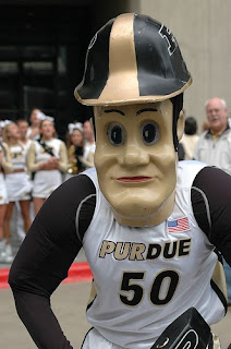 Purdue fans are not taking to Purdue Pete's Extreme Makeover.