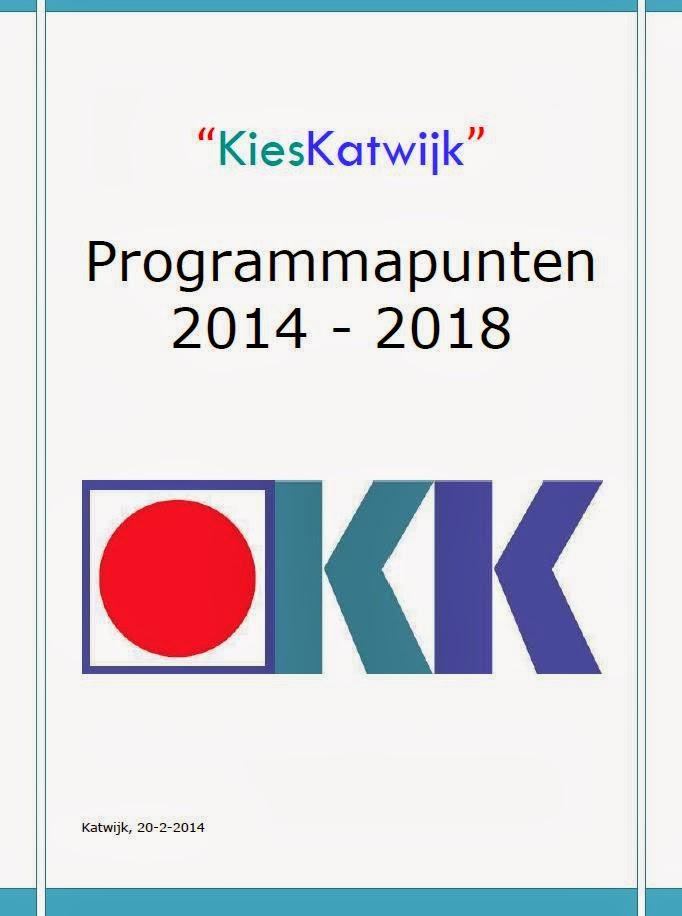 Programmapunten 2014 - 2018