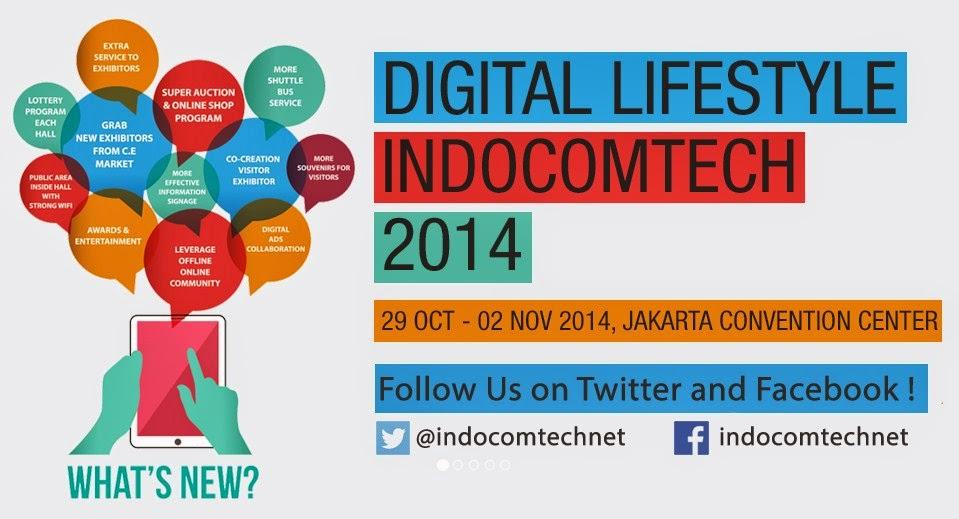 Pameran komputer Indocomtech 2014