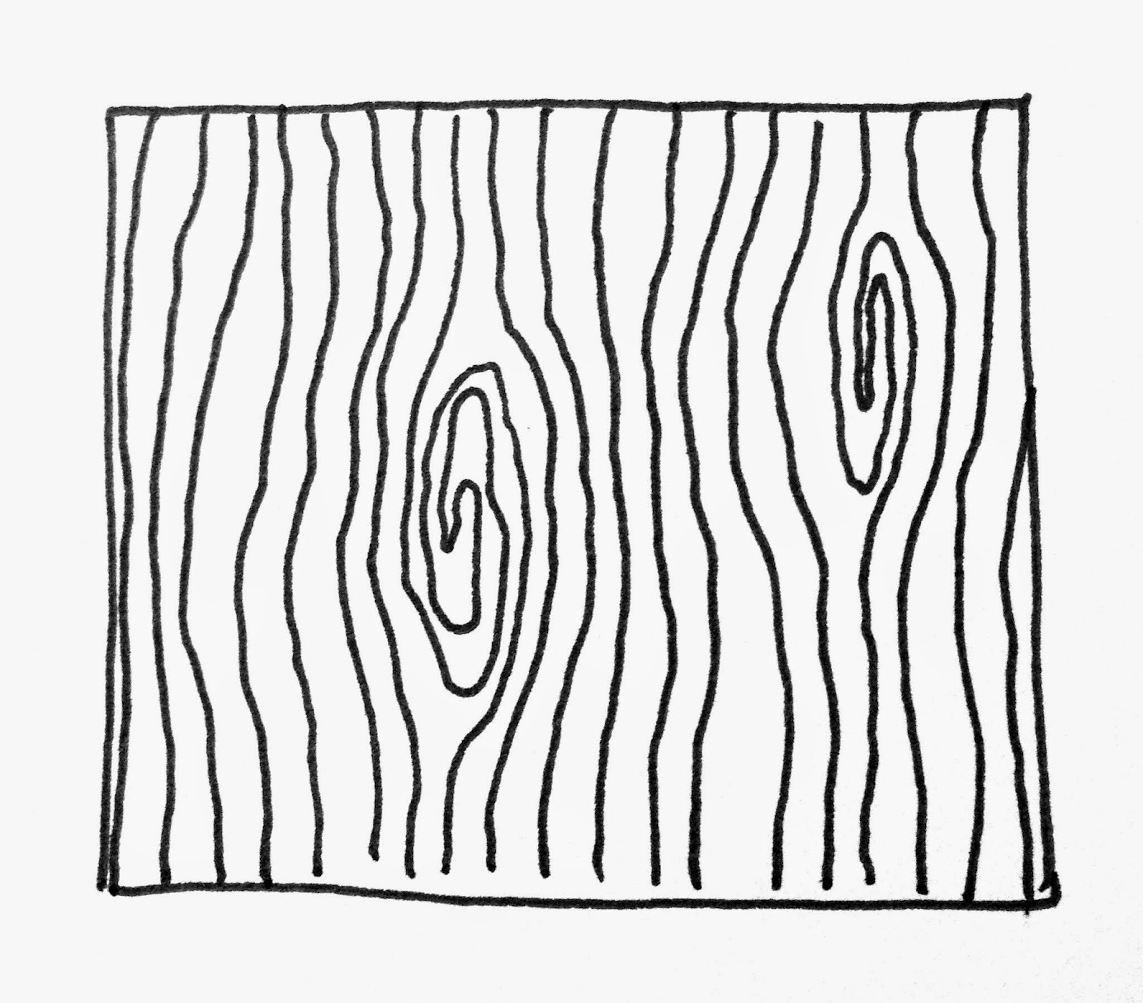 Line Art Wood Grain : A few scraps do the woodgrain