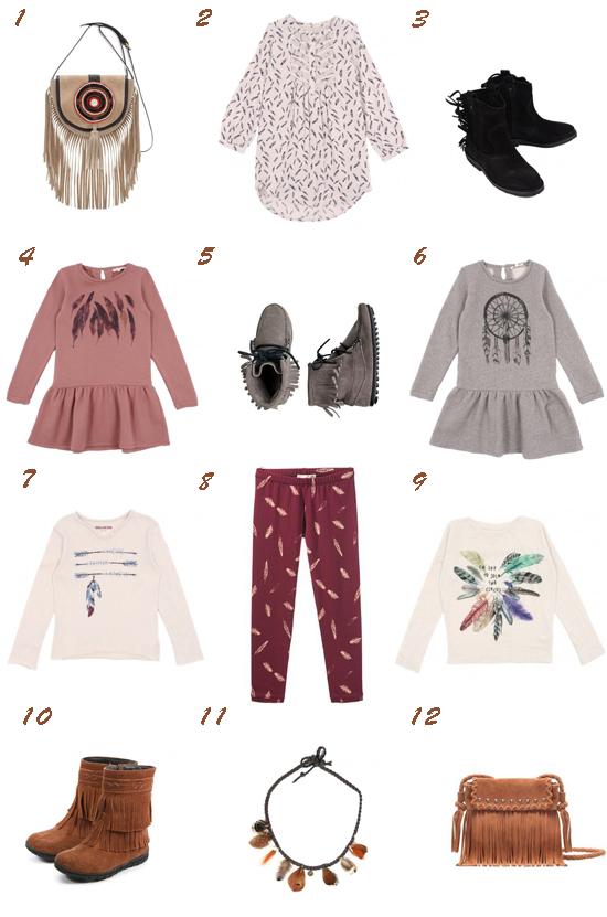 Tendencias moda niña otoño 2013 Pequeña Fashionista