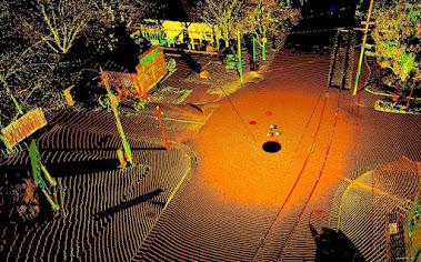 Laser Scan of History Park