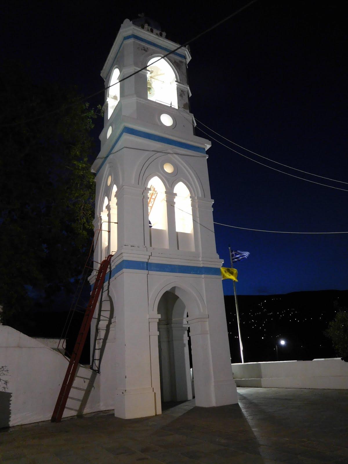 Το καμπαναριό του Αγίου Κωνσταντίνου