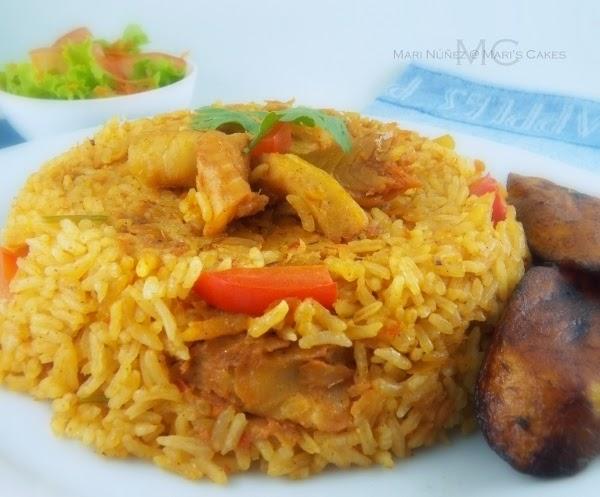 Rice with cod fish arroz con bacalao mari 39 s cakes english - Arroz con bacalao desmigado ...