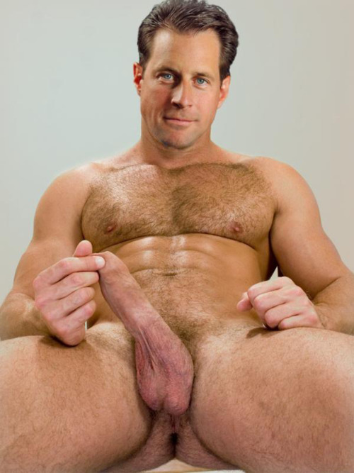 Daddy Hairy Muscle Man