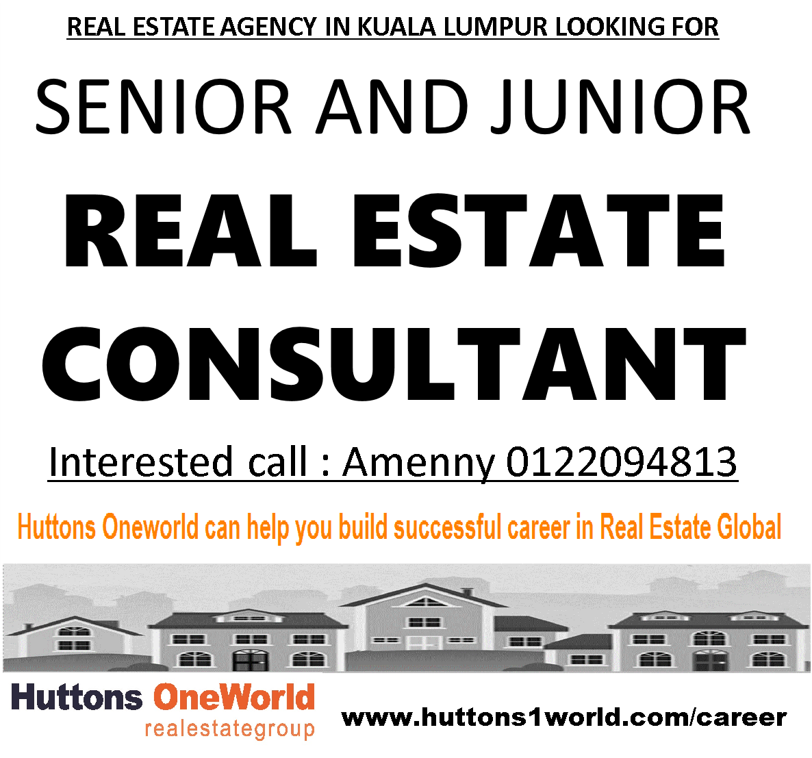 Real Estate Career : Real estate career in malaysia top agency