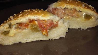 pizza ball recette fast food maison bonne recette rapide pizza à partager recette originale et facile