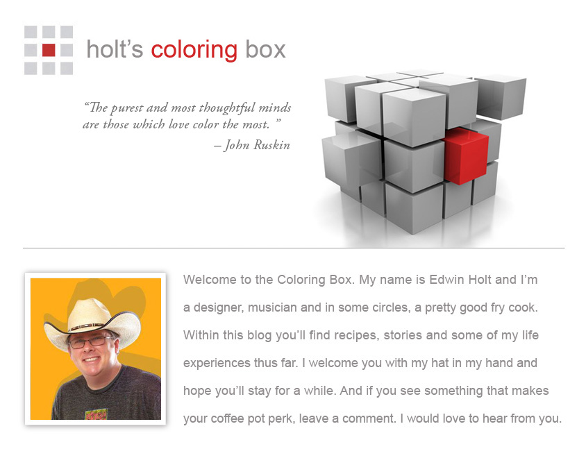 Holt's Coloring Box