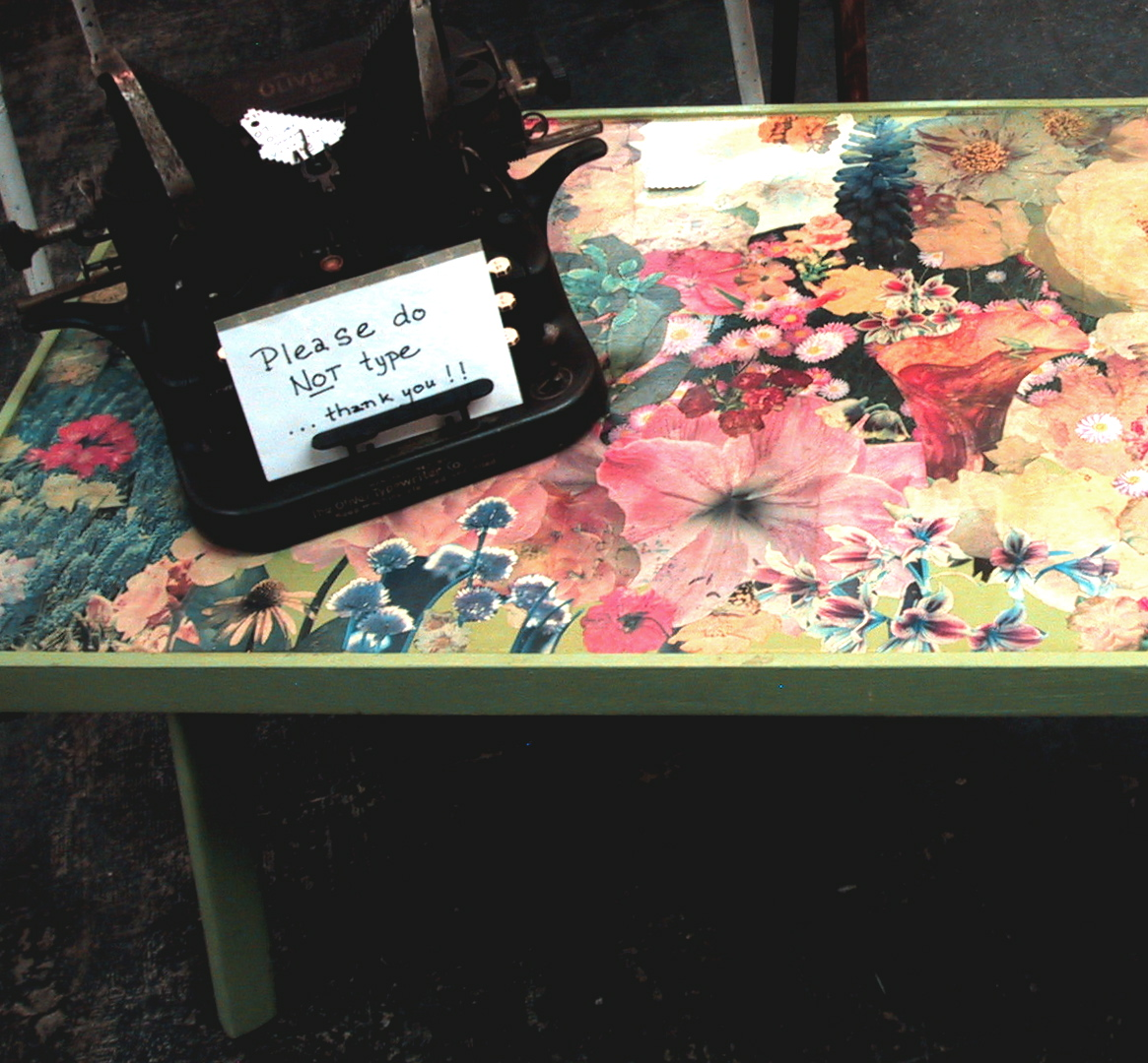 Ormolulu a bit of vintage bliss bliss for Inspirational decoupage coffee table