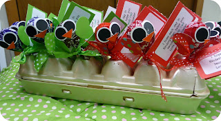 The Very Busy Kindergarten: Candy Owl Pops