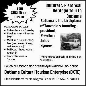 Karibu Butiama / Welcome to Butiama