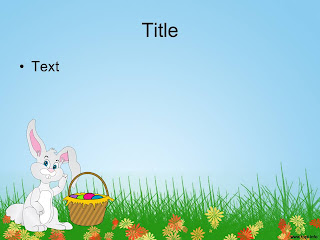 Free download Easter PowerPoint template 008B