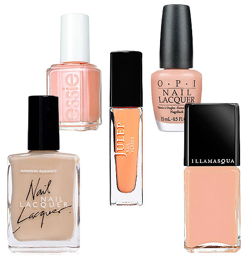 Pretty Peach Polishes Spring's Answer to Nude Lacquer?
