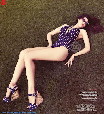 Hot Mallika Haydon Photoshoot For HELLO! Magazine May 2012