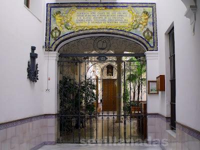 Zaguán Pozo Santo Romero Murube
