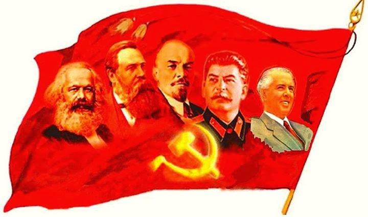 Μαρξ - Έγκελς - Λένιν - Στάλιν - Χότζα