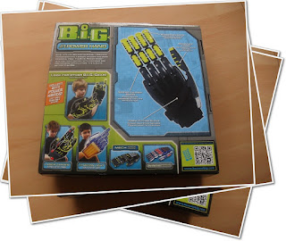 Big power hand packaging