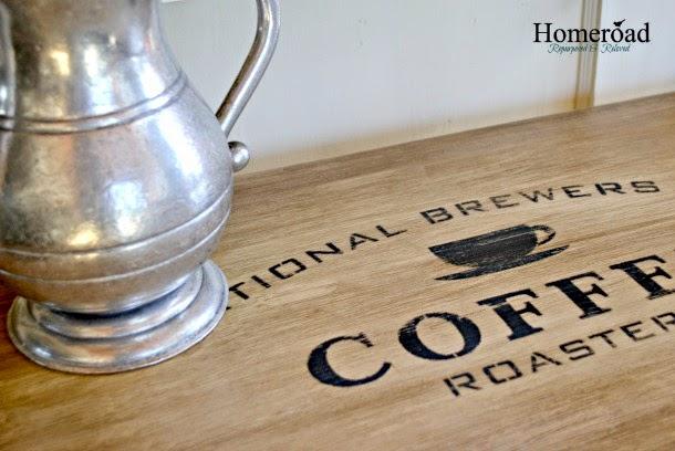Coffee Bar Table www.homeroad.net