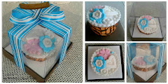 NEW! Fondant Cupcake with/without packaging