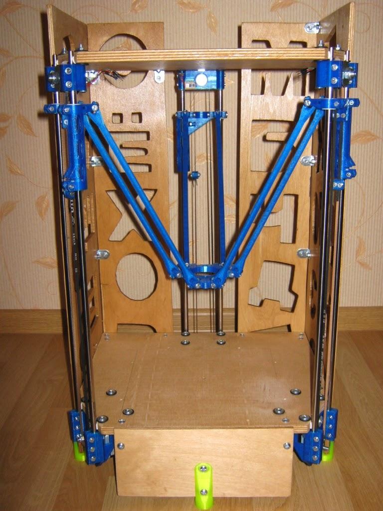 3d принтер дельта чертежи 35