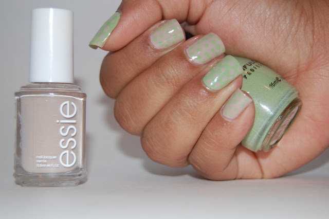 Essie Sand Tropez, Sinful Colors Olympia