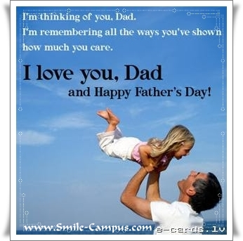 I Love You Daddy - Happy Father's Day Pics No. 36