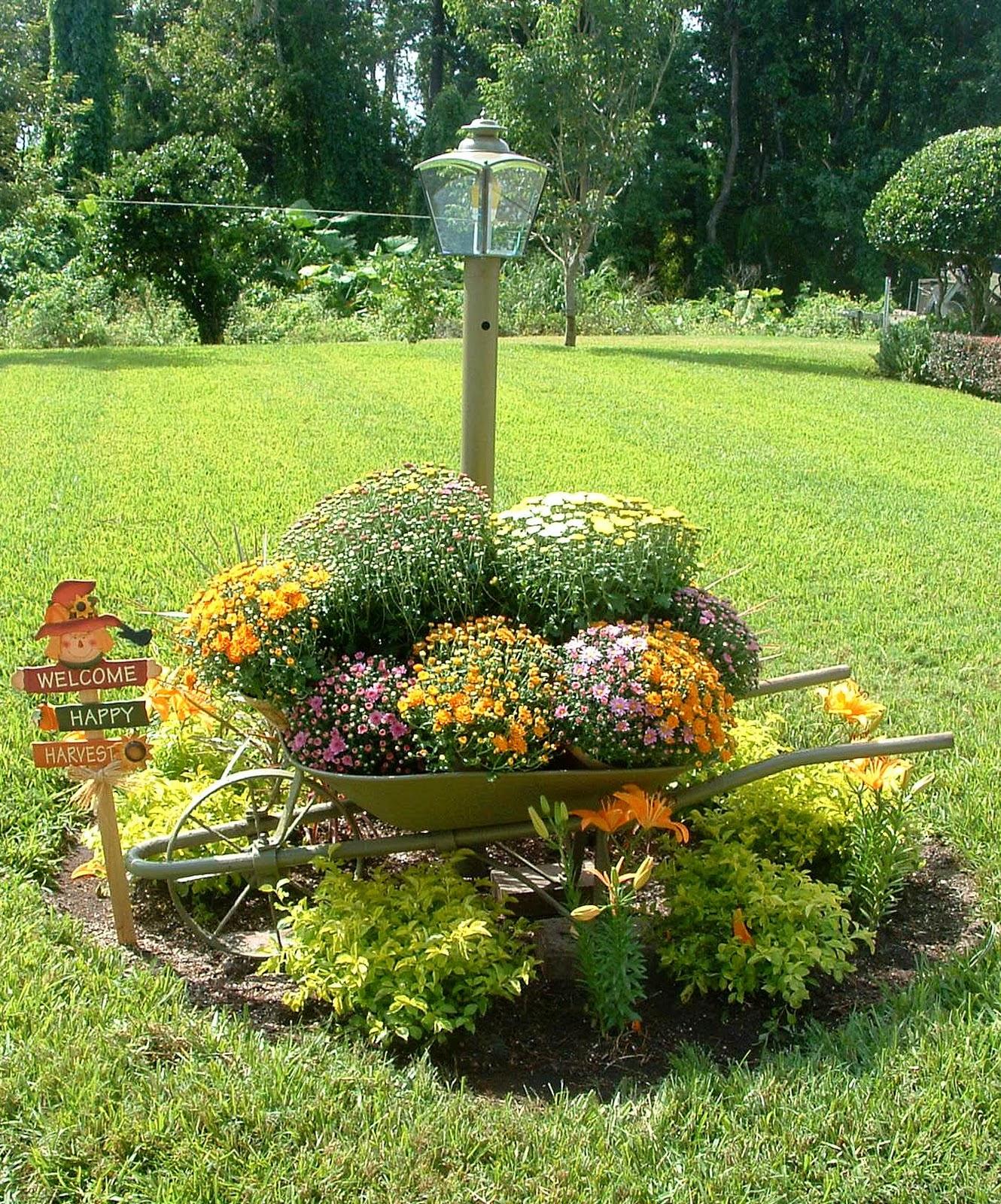 Decora Interi : Jardins coloridos e reciclados #A67025 1330x1600