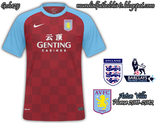 Aston Villa 2011 2012  Barclays Premier League