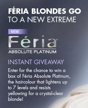 of 600 FREE Product Coupons for Feria Absolute Platinum Instantly