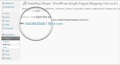 How to install and set up Simple PayPal Shopping Cart?