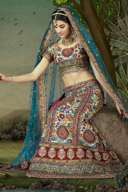 14 - Giselli Monteiro Latest Photoshoot In Indian Wedding Clothes