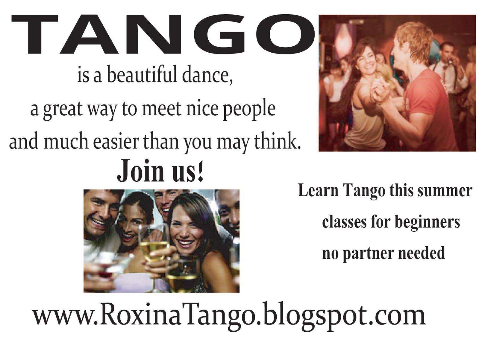 learn Tango beginners