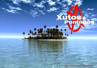 Logotipo dos Xutos e Pontapés Wallpapers em fundo de tela clássico Ilha Paraíso