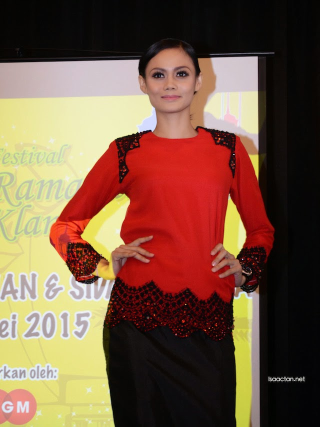 Some of the interesting fashion collection from the UiTM alumni