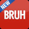 Bruh Button Icon Logo