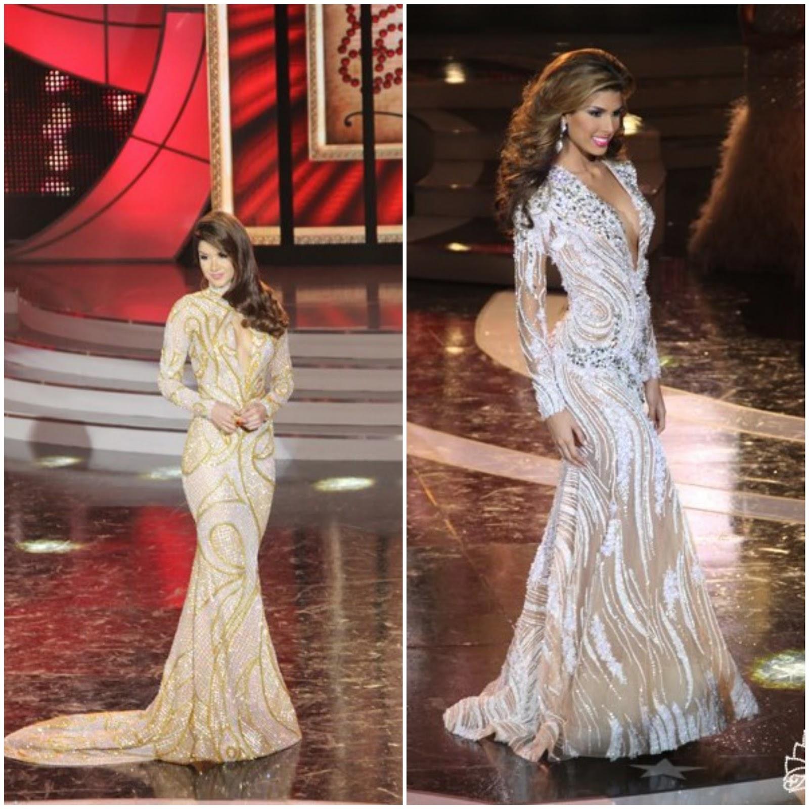 SASHES AND TIARAS..Miss Venezuela 2018 Finals: EVENING