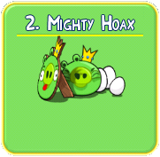 mighty+hoax Solucin de niveles en Angry Birds