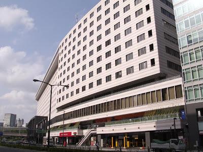 Akasaka Excel Hotel Tokyu, in Akasaka, Tokyo.