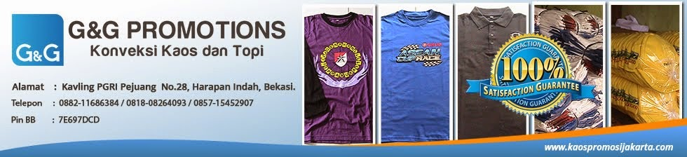 Kaos Promosi Jakarta