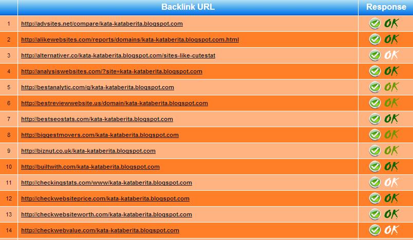 Memasang ratusan backlink dalam sekejap!