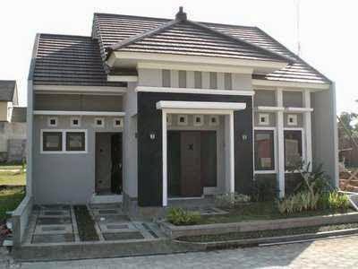 gambar rumah minimalis 1 lantai dan denahnya