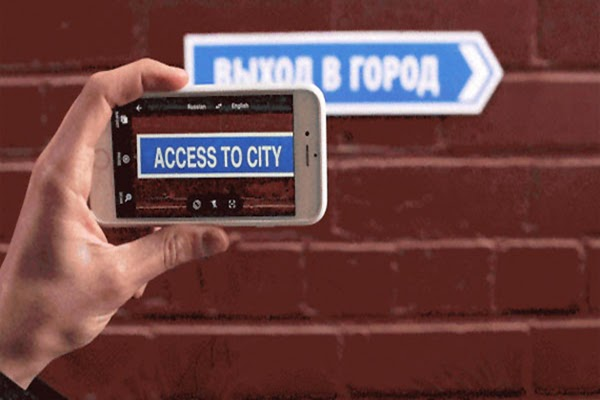 Google Translate App Translates The Image In Real Time