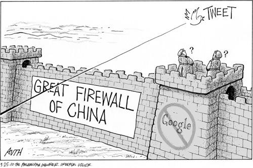 chinesische Firewall - freshestweb.com