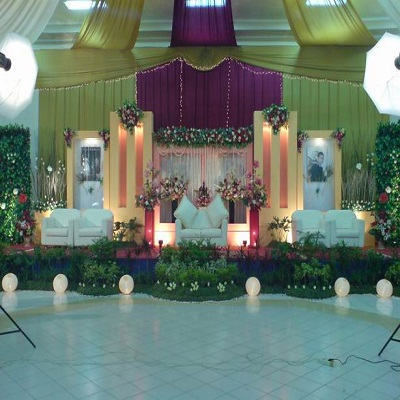 Wedding Accessories Sample Wedding Decorations In The Building In Indonesia