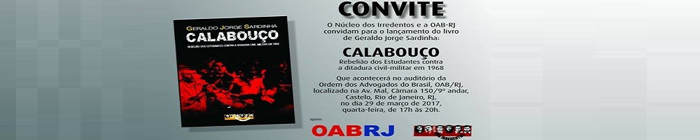 29 DE MARÇO - OAB/RJ