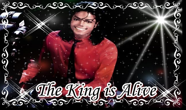 The king of pop is alive