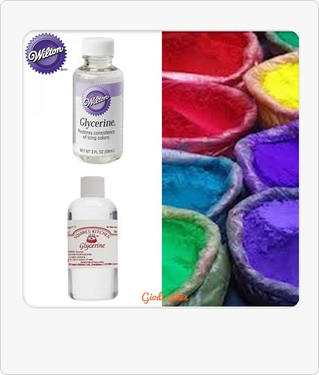 Giodi cakes: Como hacer colorante alimenticio en gel en casa