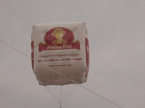 Balon Udara Food Hall