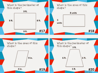 http://www.teacherspayteachers.com/Product/Area-and-Perimeter-Task-Cards-Grades-2-4-1019008
