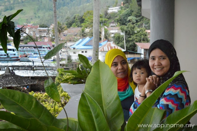 Melancong ke Medan - Perjalanan ke Danau Toba